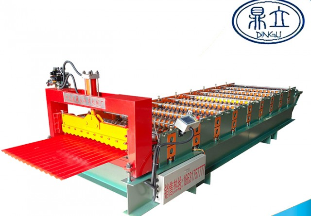 roll-forming-machine-corrugated sheet-18-76-836-material width 1000mm