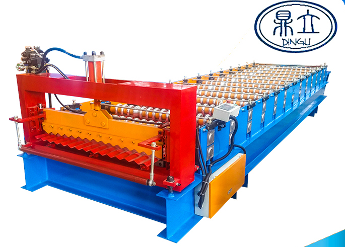 roll-forming-machine-corrugated sheet-18-76-988-material width 1200mm