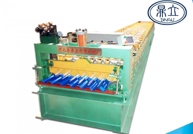 roll-forming-machine- corrugated sheet-33-130-780-material width 1000mm