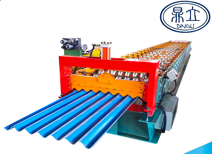 roll-forming-machine-corrugated sheet-33-130-780-material width 1000mm