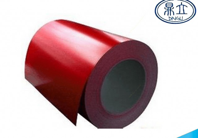 Color stee material-PPGI-red