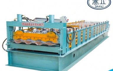 roll-forming-machine-car board carriage plate-1183-material width 1250