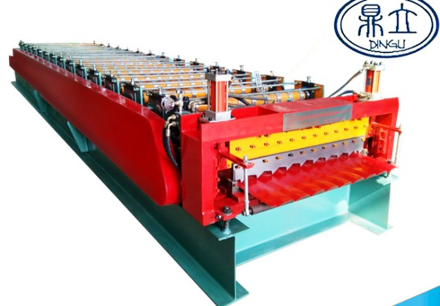 roll-forming-machine-double deck-1150-1154-material width 1250mm-Russian