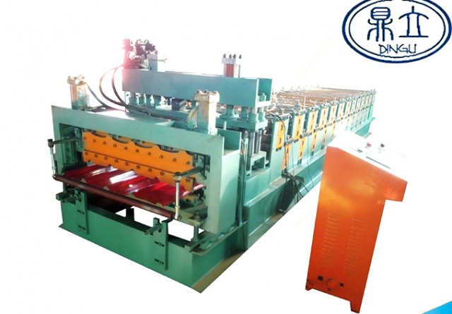 roll-forming-machine-double deck-820-840-material width 1200mm-Zambia