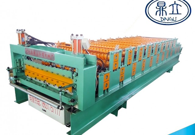 roll-forming-machine-double deck-840-850-material width 1000mm