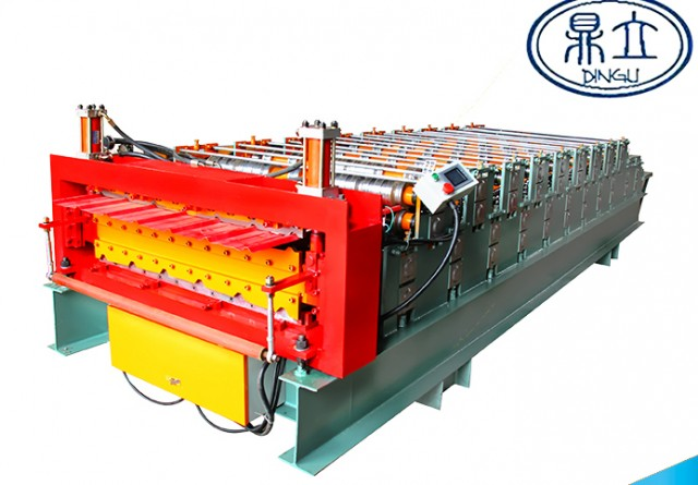 roll-forming-machine- double deck-840-900-material width 1000mm