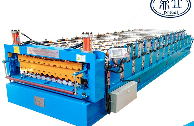 roll-forming-machine-double deck-C10-C20-material width 1250mm-Russia