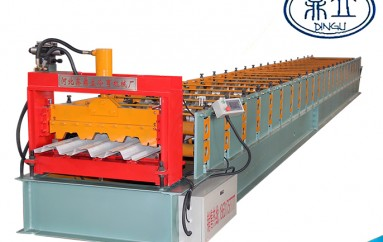 roll-forming-machine- floor deck machine-720- material width 1000mm