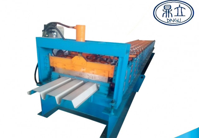 roll-forming-machine- floor deck machine-75-616- material width 966mm-Mexico