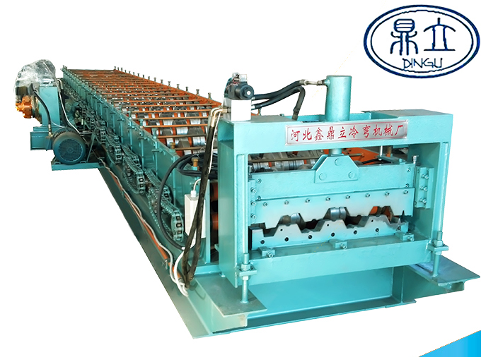 roll-forming-machine-floor deck machine-76-344-688- material width 1000mm