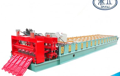 roll-forming-machine-glazed tile-1050-material width 1250mm-Roma