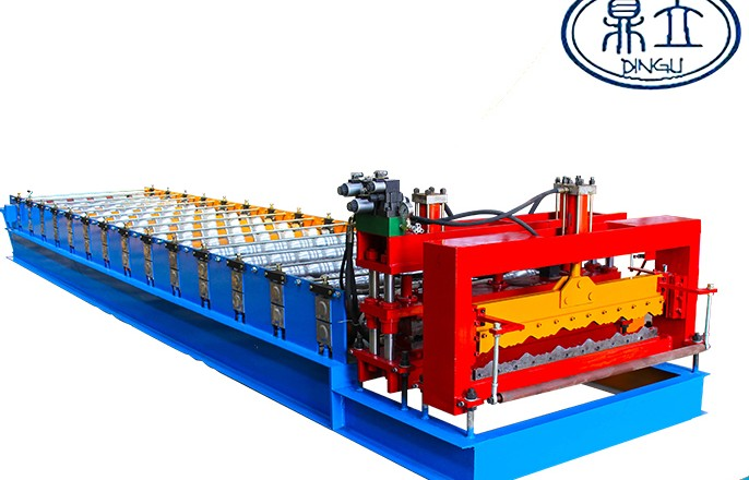 roll-forming-machine- glazed tile-23-190-950-material width 1200mm-Nigeria