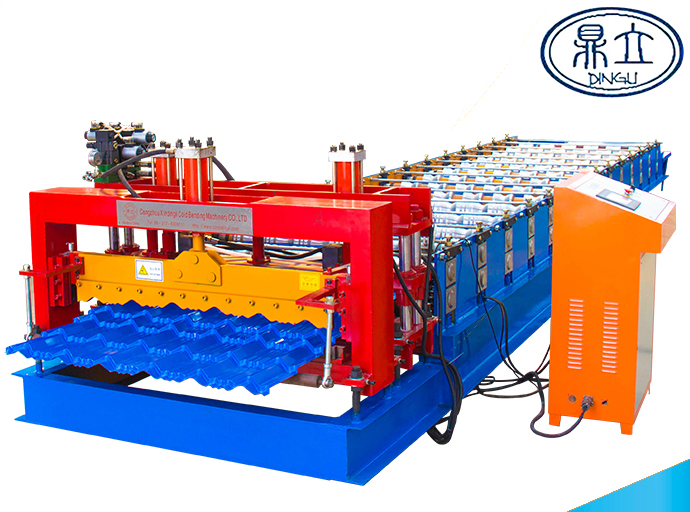 roll-forming-machine-glazed tile-23-190-950-material width 1200mm-Nigeria