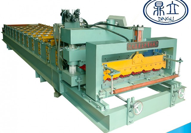 roll-forming-machine- glazed tile-25-210-1050-material width 1200mm
