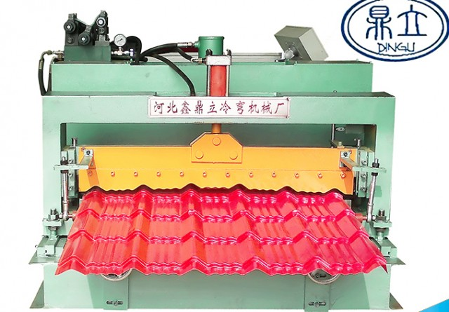 roll-forming-machine-glazed tile-25-210-1050-material width 1200mm