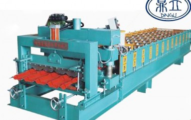 roll-forming-machine-glazed tile-25-210-840-material width 1000mm