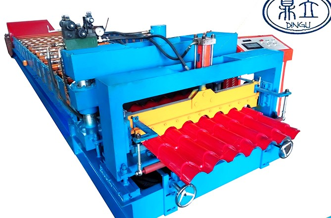 roll-forming-machine-glazed tile-32-150-900-material width 1200mm