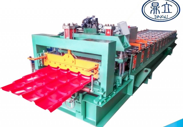 roll-forming-machine-glazed tile-764-material width 914mm-Thailand