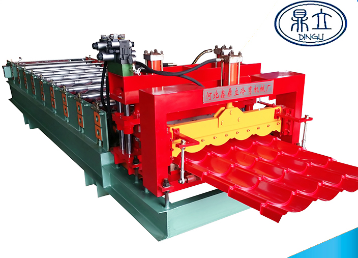 roll-forming-machine-glazed tile-828-material width 1000mm