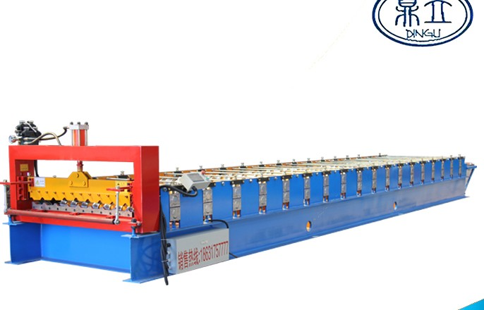 roll-forming-machine-ibr roof wall panel-21-136-1088- material width 1250mm-Philippines