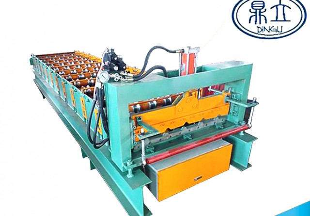 roll-forming-machine-ibr roof wall panel-25-190-760-material width 914mm-Thailand