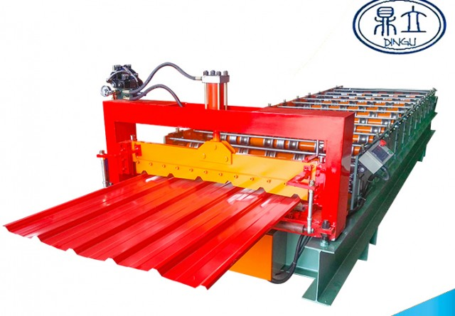 roll-forming-machine-ibr roof wall panel-25-210-1050- material width 1200mm