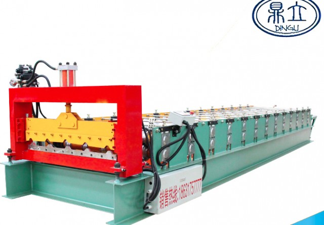 roll-forming-machine-ibr roof wall panel-25-210-840-material width 1000mm
