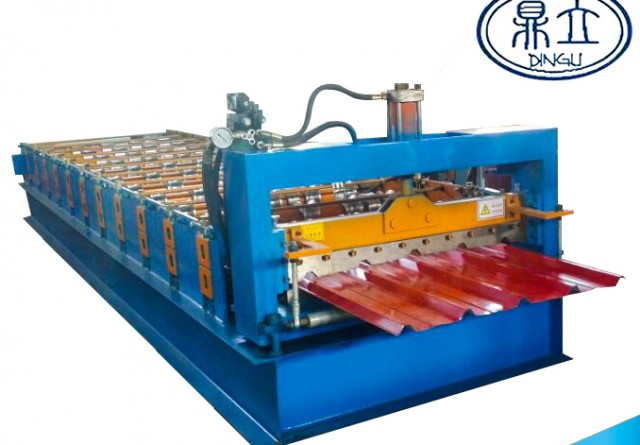 roll-forming-machine-ibr roof wall panel-25-210-840-material width 1000mm Sri Lanka