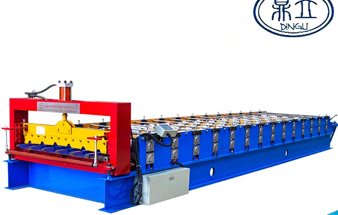 roll-forming-machine- ibr roof wall panel-30-196-980- material width 1200mm-India