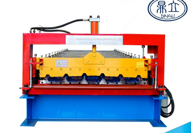 roll-forming-machine-ibr roof wall panel-30-196-980- material width 1200mm-India
