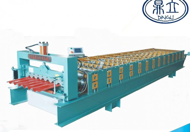 roll-forming-machine-ibr roof wall panel-32-125-750- material width 1000mm
